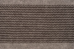 Striped knitted fabric Royalty Free Stock Images