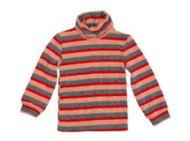 Striped knitted sweater Stock Photography