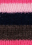 Striped knitted texture Stock Image