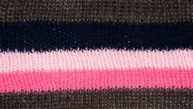 Striped knitted texture Royalty Free Stock Photos