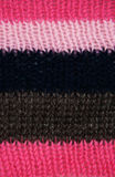 Striped knitted texture Royalty Free Stock Images