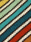 Striped knitting Royalty Free Stock Photos