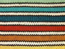 Striped knitting Stock Photos