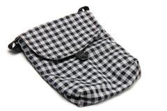 Striped Linen сумка ткани Стоковые Фото
