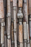 Striped lines of wood Stock Photos
