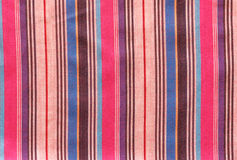 Striped loincloth fabric background Royalty Free Stock Photos
