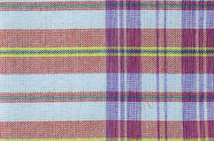 Striped loincloth fabric background Royalty Free Stock Image
