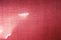 Striped Mat Red Stock Photo