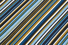 Striped material Stock Image