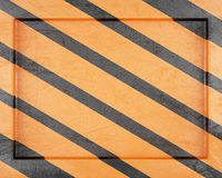 Striped metal frame Royalty Free Stock Images