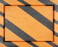 Striped metal frame Royalty Free Stock Photography