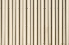 Striped Metal Wall for Backgound Stock Images