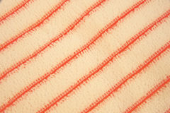 Striped microfiber towel. Royalty Free Stock Photography