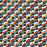 Striped modern color blocked print Stock Photos