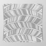 Striped Monochrome Pattern Stock Photography
