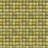Striped mosaic backdrop in multiple green yellow Royalty Free Stock Photo