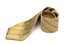Striped necktie Royalty Free Stock Image