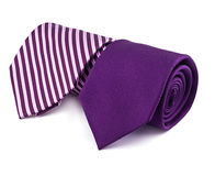 Striped necktie Stock Photos