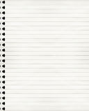Striped notebook Stock Photos
