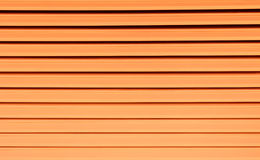 Striped orange color - Background texture and abstract Royalty Free Stock Photography