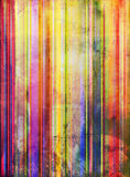 Striped paint shapes mixed media Royalty Free Stock Photos