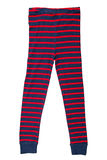 Striped pants Royalty Free Stock Photography