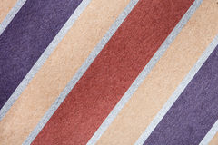 Striped paper background Stock Images