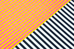 Striped paper background Stock Photos