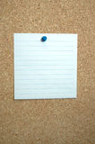 Striped paper sheet Royalty Free Stock Photos