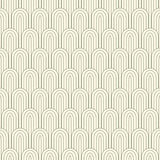 Striped pattern in art nuvo Stock Images