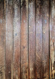 Striped pattern brown plank wood wal Stock Photography