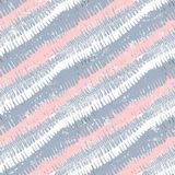 Striped pattern with brushed lines Stock Photography