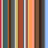 Striped pattern in retro colors. Vector background Stock Photos