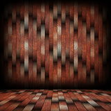 Striped pattern of wood planks on wall Royalty Free Stock Images