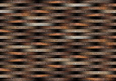 Striped pieces of floor Royalty Free Stock Photography