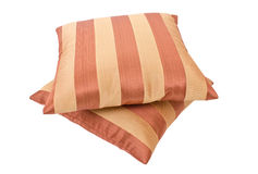 Striped pillows Stock Image