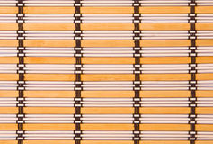 Striped Placemat Royalty Free Stock Photography