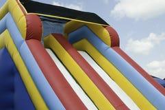 Striped plastic slide Stock Images