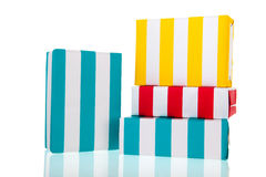Striped presents Royalty Free Stock Images