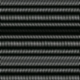 Striped  psychedelic background with black and white moire lines Royalty Free Stock Image
