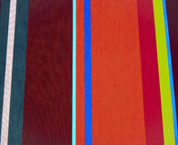 Striped red and blue fabric Royalty Free Stock Photos
