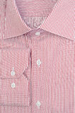 Striped red shirt Royalty Free Stock Image