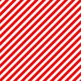 Striped red and white diagonal pattern. Warning background for h Royalty Free Stock Photos