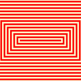 Striped red white pattern. Abstract repeat straight lines geometric texture background. Royalty Free Stock Photography