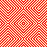 Striped red white seamless pattern. Abstract repeat angular lines texture background. Vector illustration Royalty Free Stock Photography