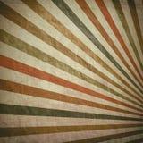 Striped retro background Stock Image