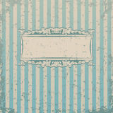 Striped retro background Stock Photography
