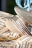 Striped Ribbon Royalty Free Stock Photography