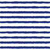 Striped Sailor Suit Seamless Pattern. Stock Images