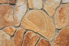 Striped sandstone background Stock Images